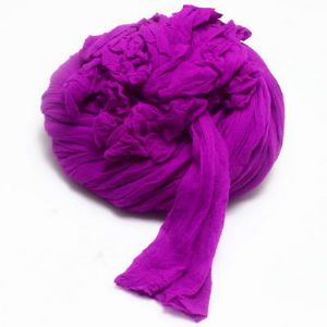 Single colour Specially dyed nylon, Nylon, Violet, Stretched size 1.5m x 15cm, 4 pieces, [SWW0442]